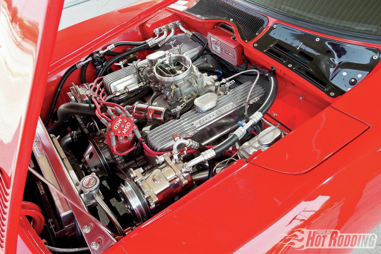 Opel GT... En V8, elle n'a jamais autant ressemblé à la la Corvette ! 11