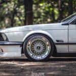 BMW E24... Le requin se chausse chez BBS !