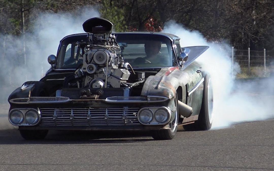 "Chevy Camino Blow Custom Rat Rod… ""Hulk Camino"" !"