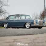 Bagged Mercedes 280SE… Barock ou AMG ?
