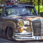 """'67 Static Mercedes 200d """"Hardtail Sally"""" - Où est passé l'antirouille ?!"""