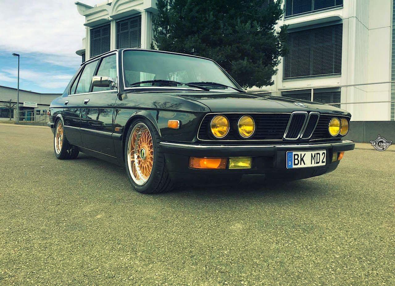 BMW 525E E28 BBS - Basic Static ! 11