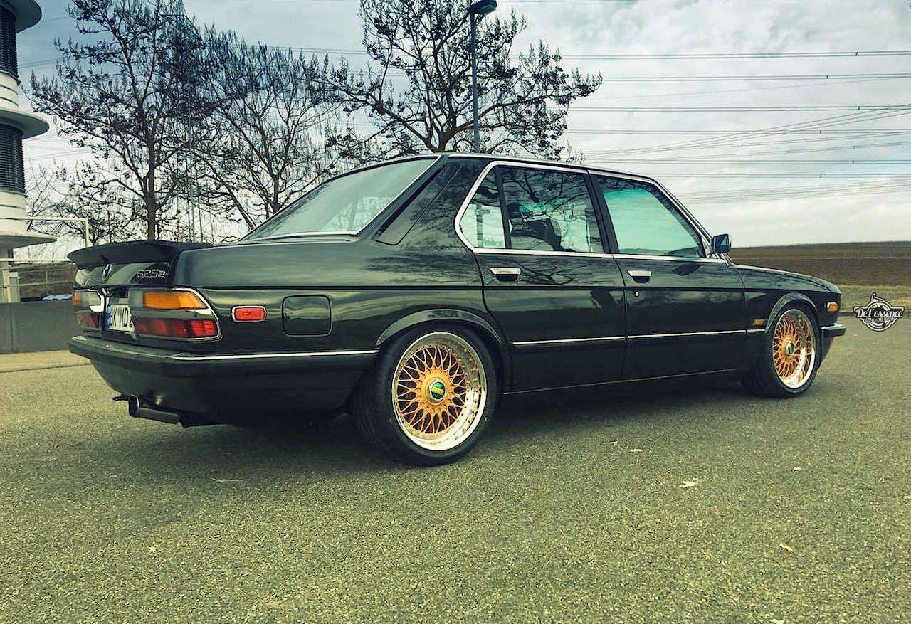 BMW 525E E28 BBS - Basic Static ! 9