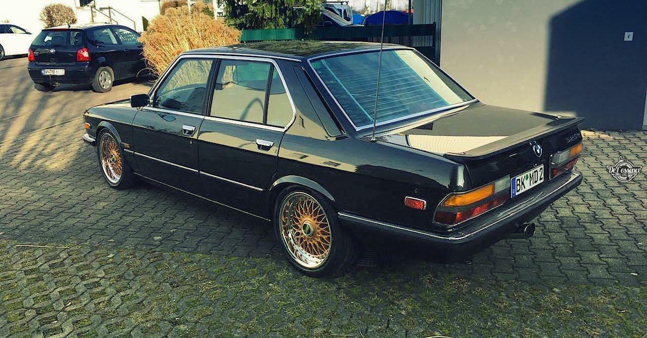 BMW 525E E28 BBS - Basic Static ! 10