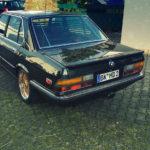 BMW 525E E28 BBS - Basic Static ! 8