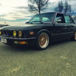 BMW 525E E28 BBS - Basic Static ! 7