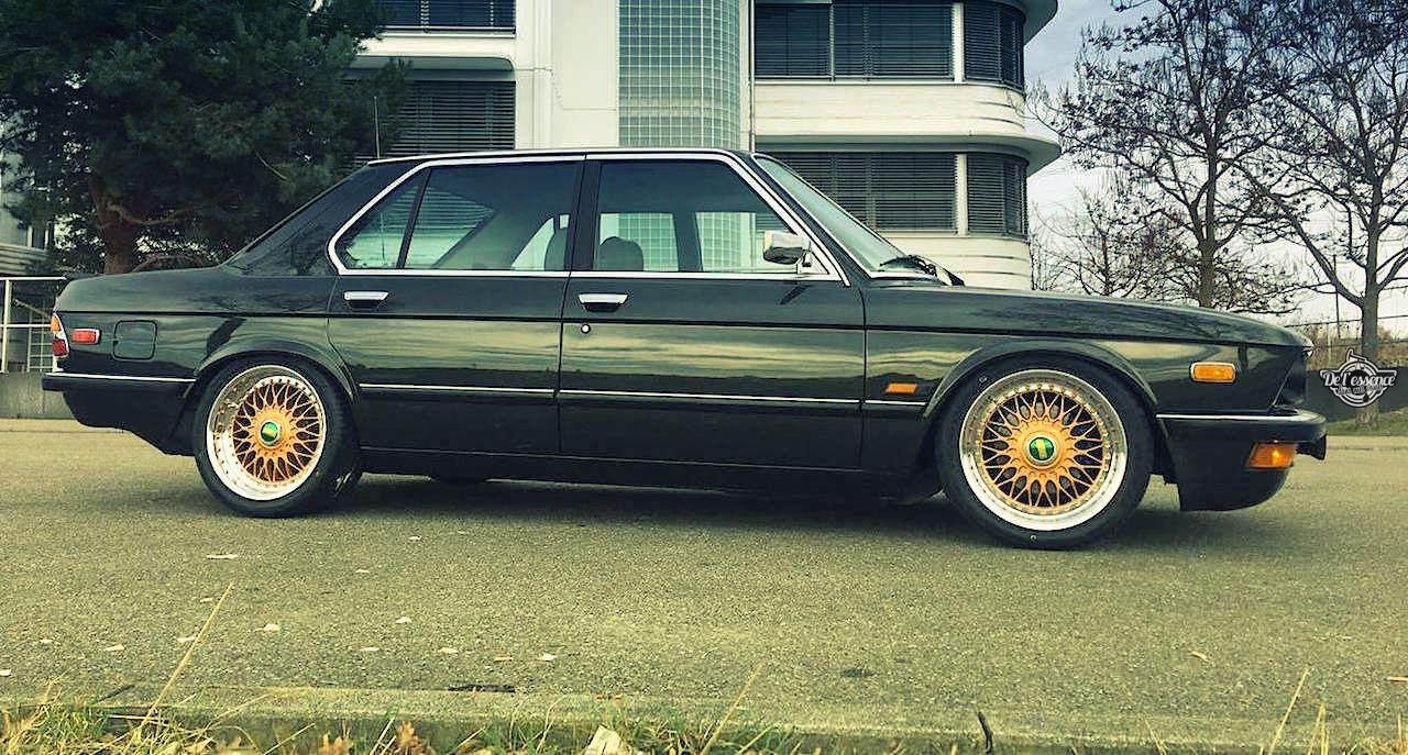 BMW 525E E28 BBS - Basic Static ! 3