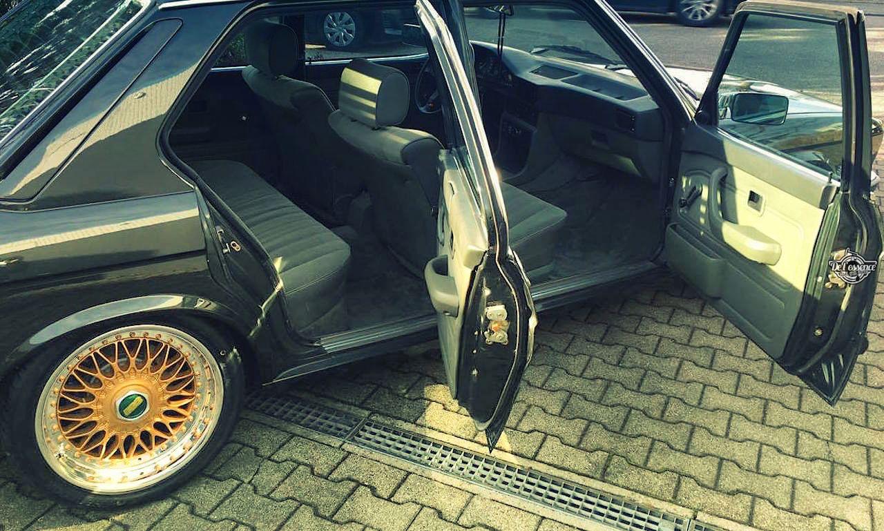 BMW 525E E28 BBS - Basic Static ! 2