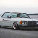Mercedes 280 CE bagged... My classic is fantastic ! 12