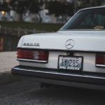 Mercedes 280 CE bagged... My classic is fantastic ! 28