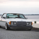 Mercedes 280 CE bagged... My classic is fantastic ! 30