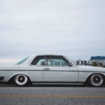 Mercedes 280 CE bagged... My classic is fantastic ! 11