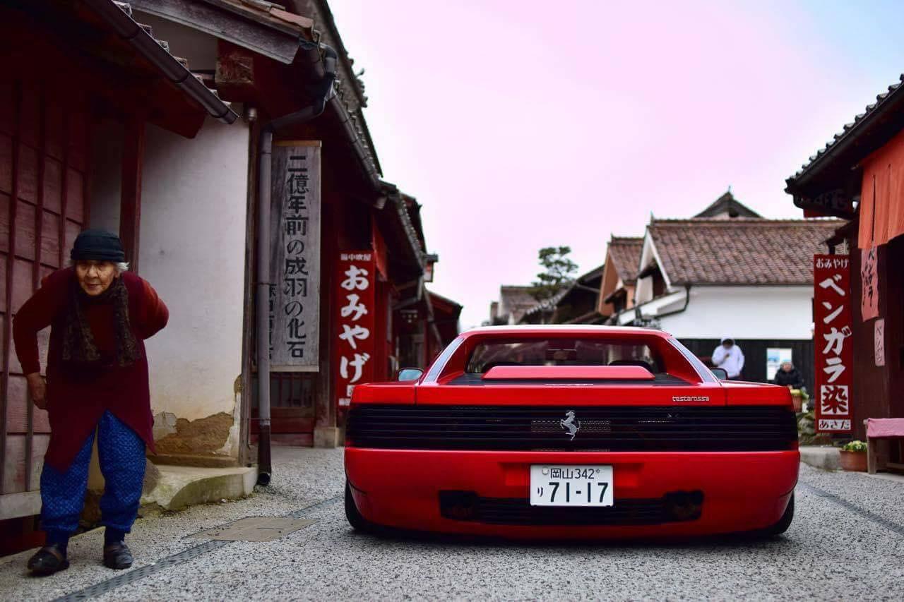 Ferrari Testarossa... Aïe, ça va encore piquer ! 5