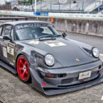 Porsche 964 RWB - Time Attack à Tsukuba