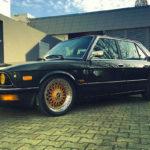 BMW 525E E28 BBS – Basic Static !