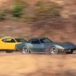 """Challenge"" : De Tomaso Pantera vs Chevrolet Corvette..."