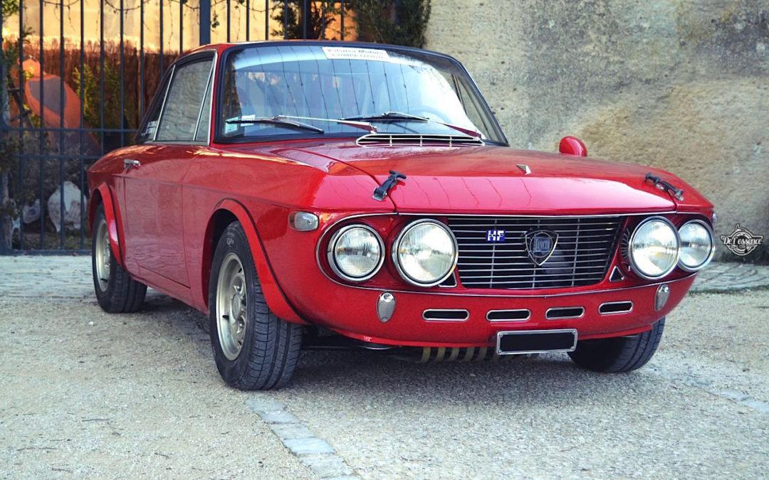 Lancia Fulvia HF Fanalone – Belissima leggenda !