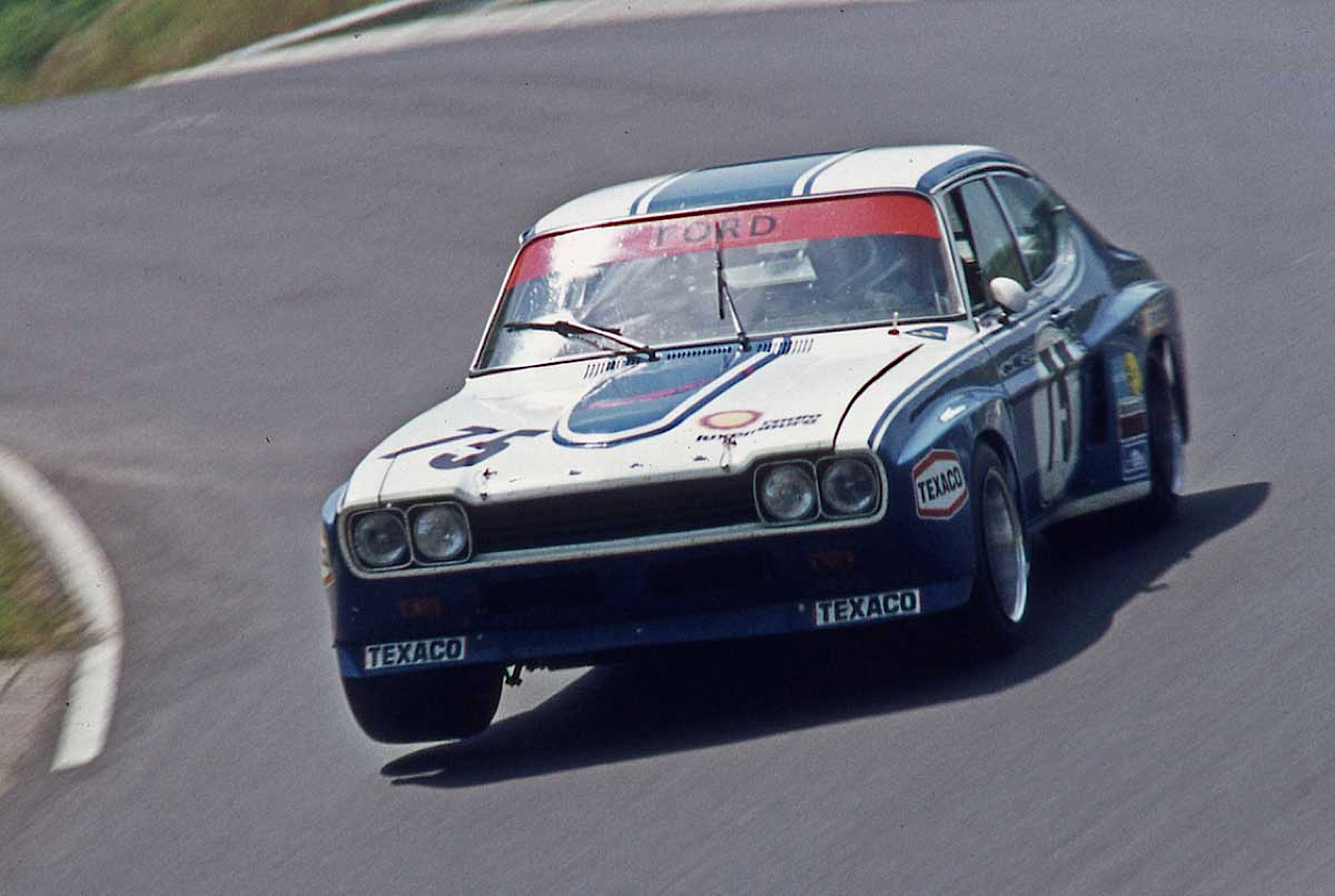 Hillclimb Monster : Niki Lauda's Ford Capri RS 3400... 2