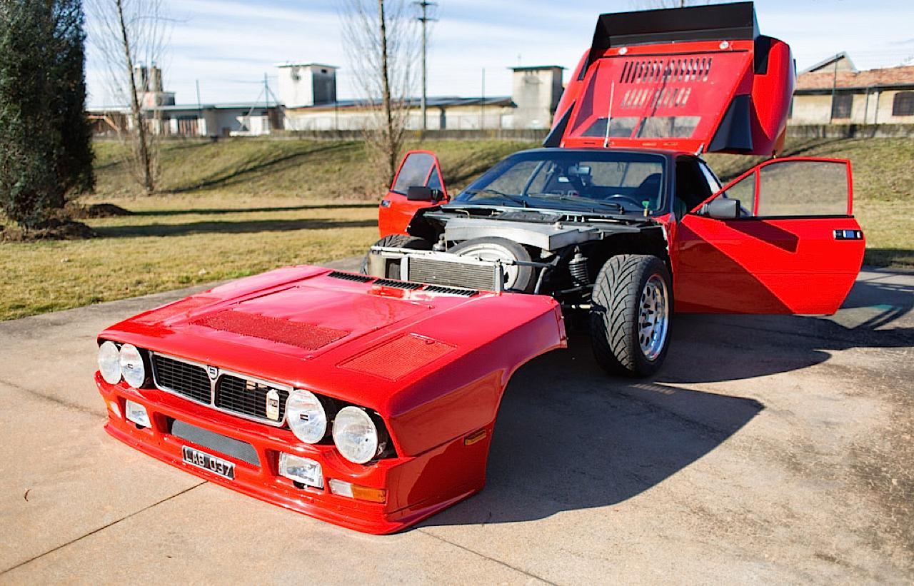 Lancia 037 - Markku Alen déchainé en test au 1000 Lacs... 8