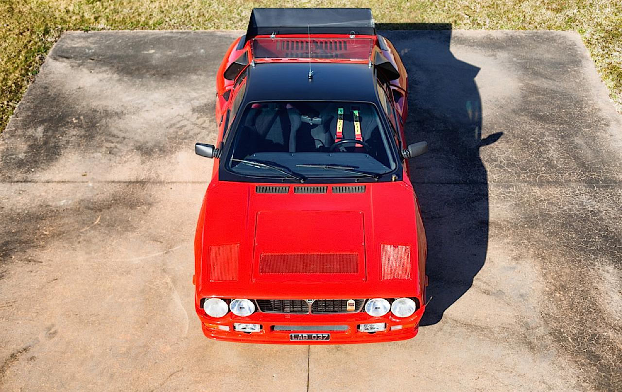 Lancia 037 - Markku Alen déchainé en test au 1000 Lacs... 11