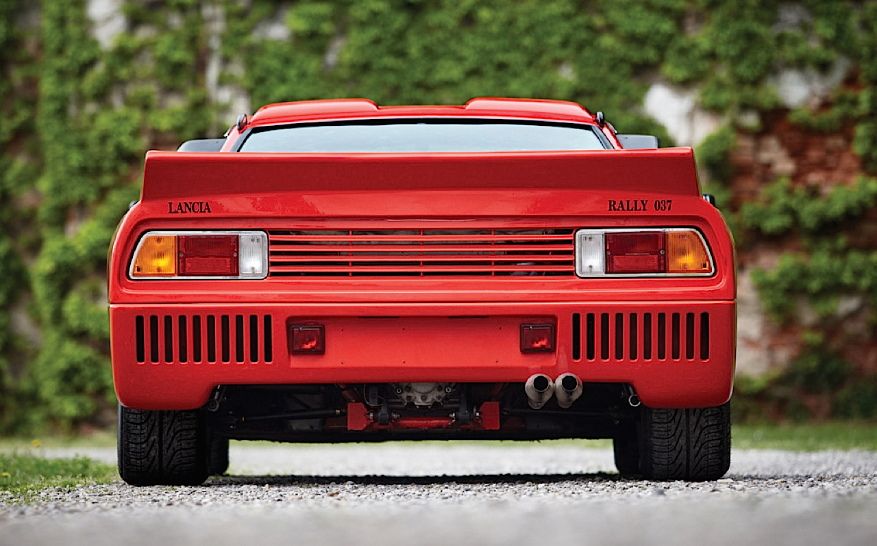 Lancia 037 - Markku Alen déchainé en test au 1000 Lacs... 1