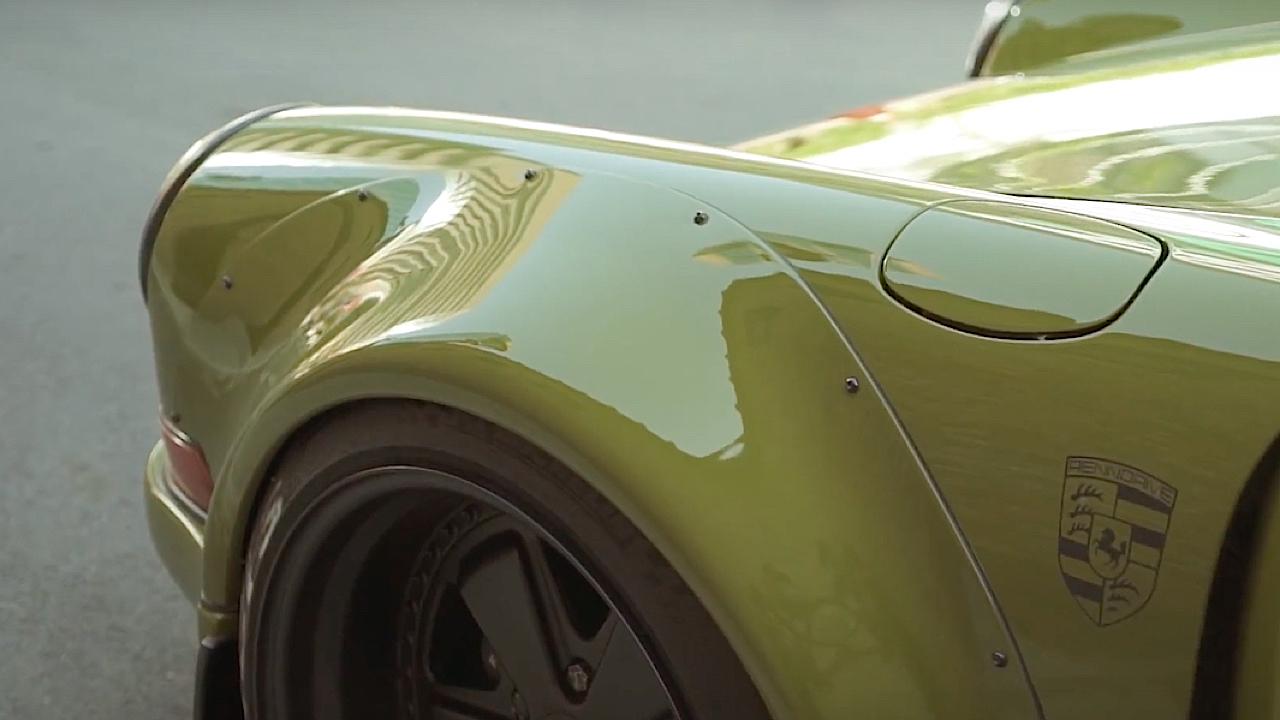 Porsche 964 RWB Thailand... La grenouille ! 5