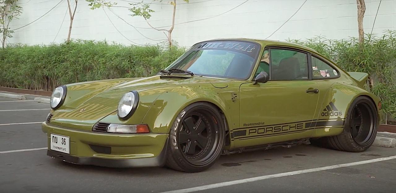 Porsche 964 RWB Thailand... La grenouille ! 4