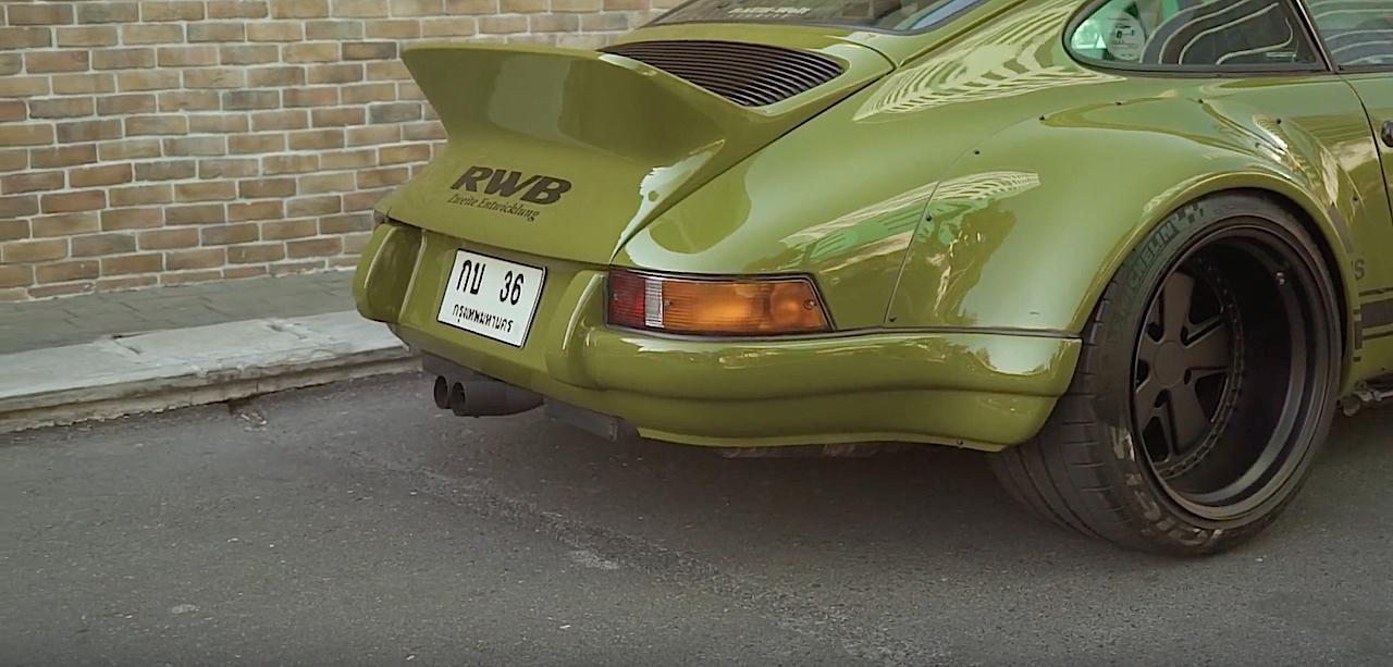 Porsche 964 RWB Thailand... La grenouille ! 1
