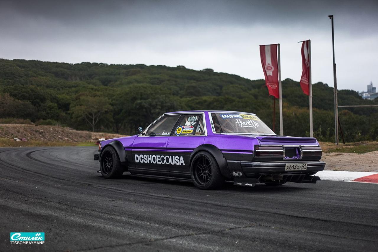 "Toyota Cresta Swap 2JZ... ""Purple Rocket"" DLEDMV"