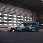 BMW E30 Touring - Stanced Art Car !