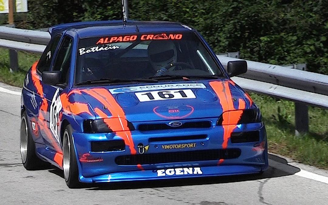 Engine sound : Ford Escort Cosworth… Balade en Italie !