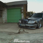 Bagged Mercedes 300TE-24 : Air-moire normande !
