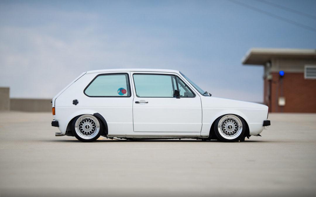 Juste une Golf 1… avec un VR6 !