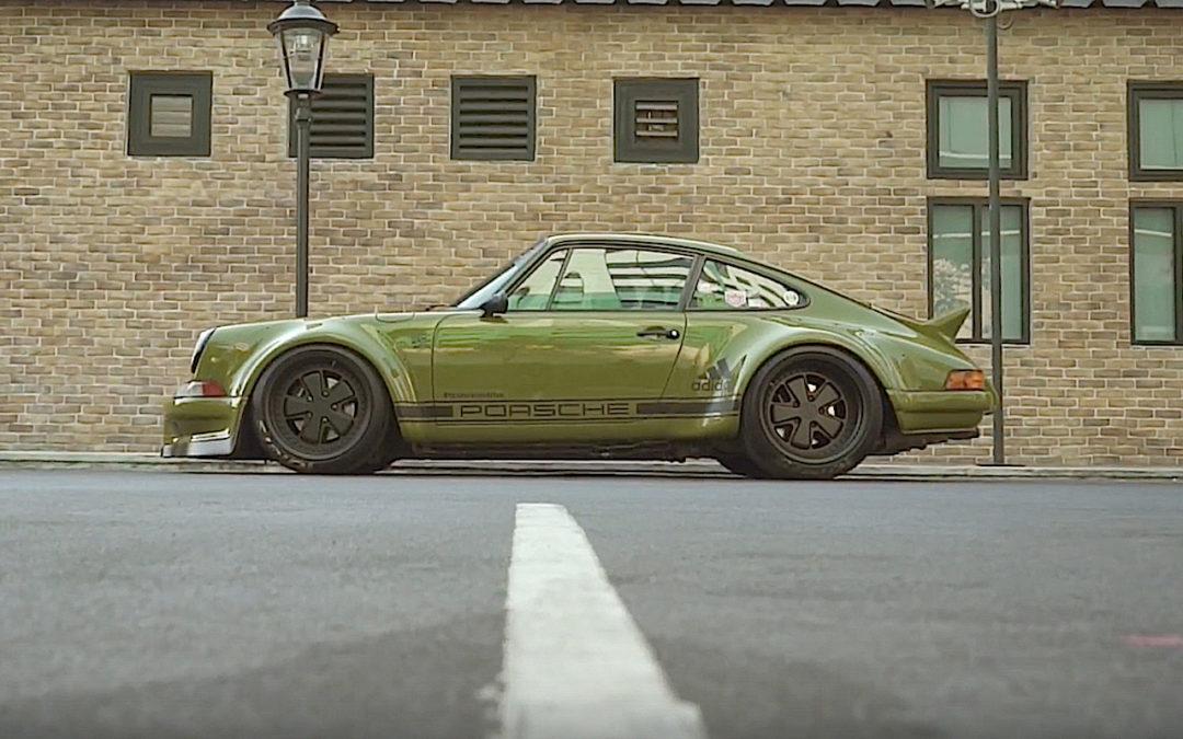 Porsche 964 RWB Thailand… La grenouille !