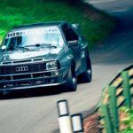 Audi Quattro SWB 1000+ - Violent !