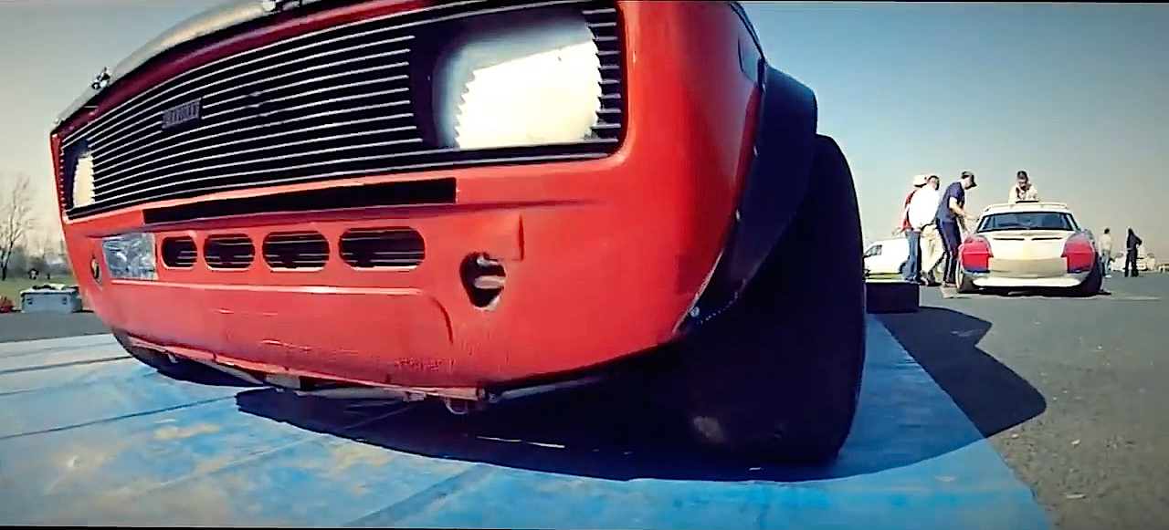 Fiat 128 Abarth - Slalom avec la caisse à mamie ! 2