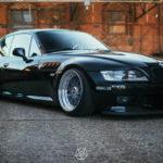 Slammed BMW Z3M coupé... Static & BBS