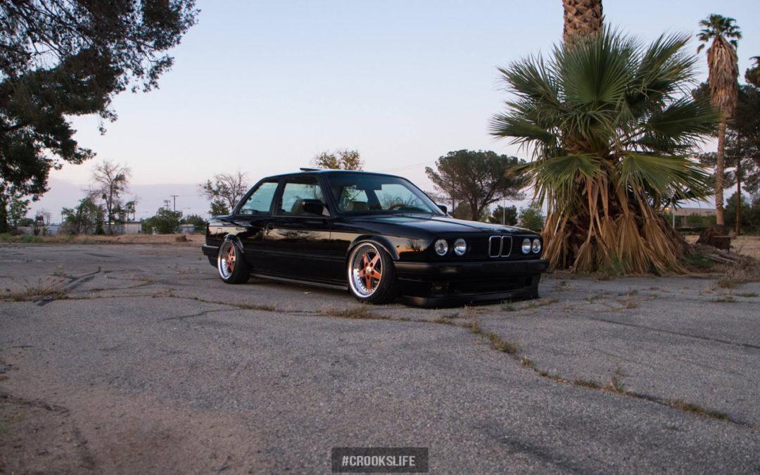 BMW E30 : Slammed en Gotti…