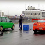 Dragrace : Fiat Multipla vs Skyline R33… No comment !
