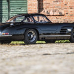 Mercedes 300 SL outlaw… en top chop et side pipe !