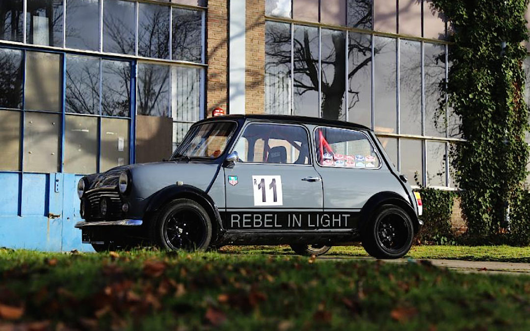 "'86 Mini Cooper – ""Rebel in light"" !"