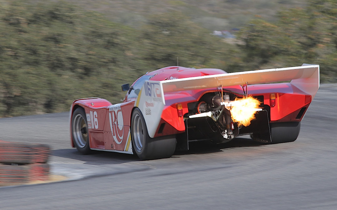 Onboard en Porsche 962… Bienvenue en enfer !