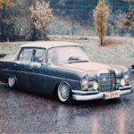 Mercedes W111 Heckflosse - Etoile des neiges !