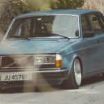 Slammed Volvo 240... Diesel mais belle... mais diesel !