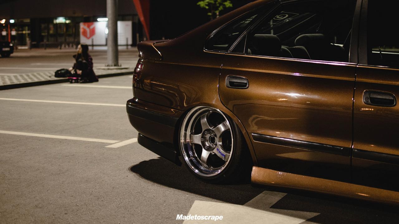 Bagged Toyota Carina E - Même les japs ont leurs beaufs ! 10