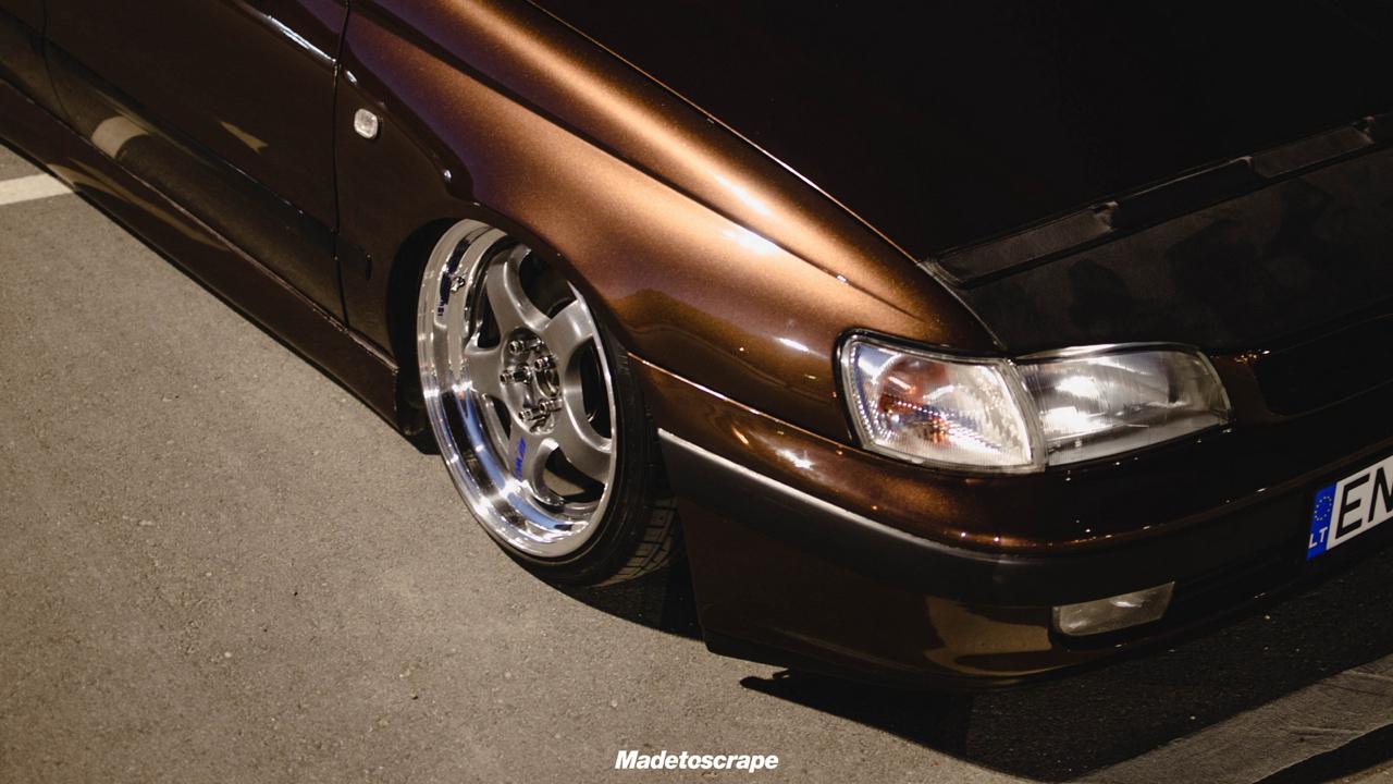 Bagged Toyota Carina E - Même les japs ont leurs beaufs ! 12