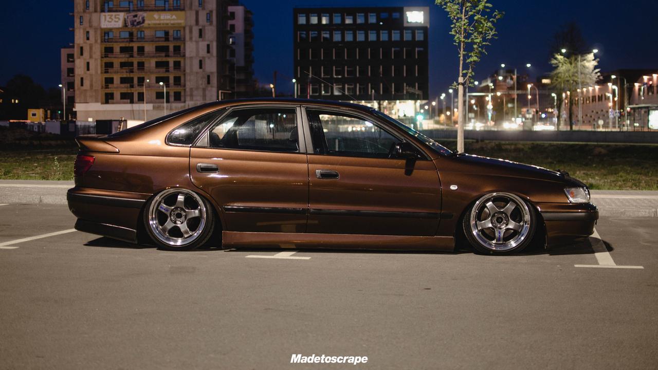 Bagged Toyota Carina E - Même les japs ont leurs beaufs ! 2