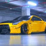 Nissan R35 / Liberty Walk – Adv1 – Armytrix / Tiercé gagnant