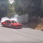 Hillclimb Monster : Opel Ascona turbo 500+ en mode drift !