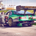 Porsche 968 Time Attack... Goldorak, Goooo !